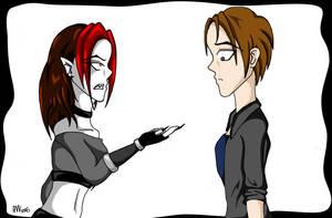 Slight Disagreement by sindra