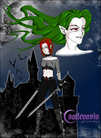 Castlevania Webcomic Cover 1 by sindra