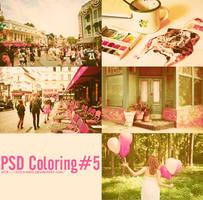 PSD Coloring#5 by SickyJinny