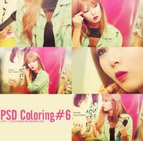 PSD Coloring#6 [130606 - Happy Birthday Kim HyunA] by SickyJinny