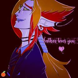  TwistedFates  Father Loves You, Valentine by orribu