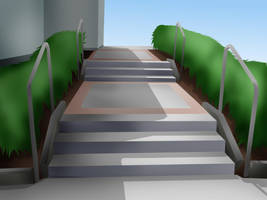 :SonicX: Stairs by Drytil