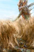 In the Fields by markmolchan