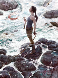 Lara Croft:  Tomb Raider Reborn by markmolchan