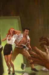 Escape the book club killer by markmolchan