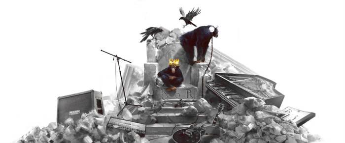 Kingdom of Rock banner illustration by markmolchan