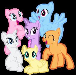 Mlp Base - Pony Pffs! by MalachiteBases