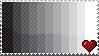 Stamp- :heart: Black+White by twilight-biohazard