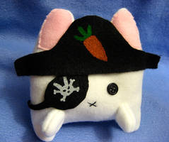 Pirate Bunny by mAd-ArIsToCrAt