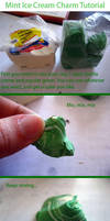 Mint Ice Cream Charm Tutorial by mAd-ArIsToCrAt