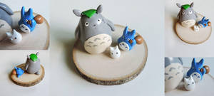 My Neighbor Totoro Sculpture by mAd-ArIsToCrAt