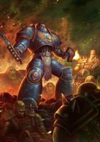Warhammer fanart by fredrickruntu