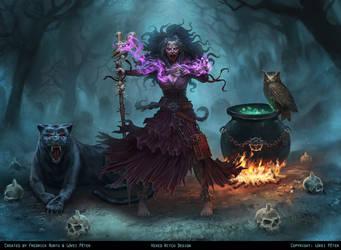 Hexed Witch by fredrickruntu