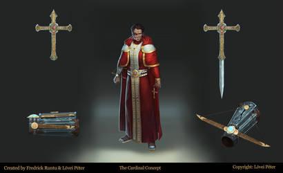 The Cardinal By Fredrickruntu-dakuev8 by fredrickruntu