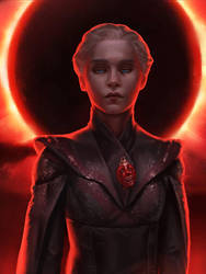 Daenerys Targaryen by fredrickruntu