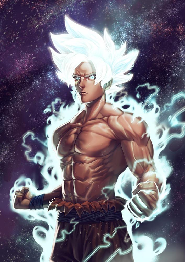 Son Goku ultra instinct by fredrickruntu