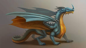 Dragon practice by cicakkia
