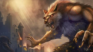 The Lycanthrope by cicakkia