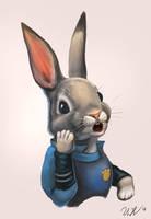 Judy Hopps by cicakkia