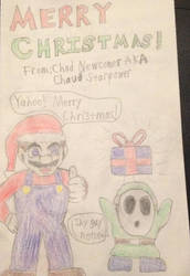 Christmas Card Part 1 by ChaudStarpower
