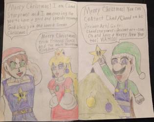 Christmas Card Part 2 by ChaudStarpower