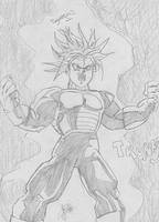 Trunks Ultra Super Saiyajin by FreakGasMask