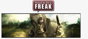 Proud be a Freak by FreakGasMask