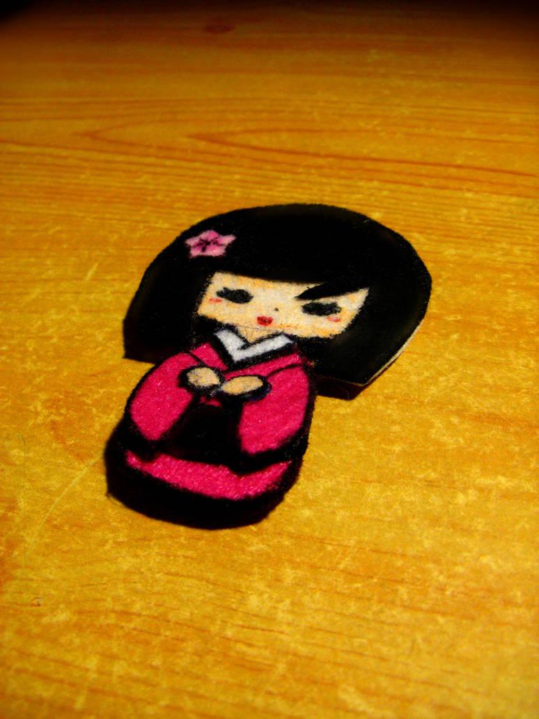 Geisha felt by carrodeguas