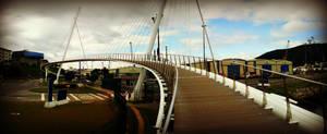 Puente Puerto de Ferrol, Spain by carrodeguas