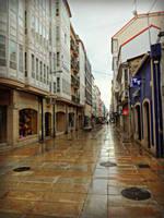 Rua Real Ferrol, Spain by carrodeguas