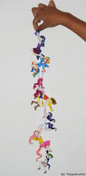 My Little Pony:FiM-Chibi Chain by yuuyami-artist