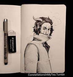 Inktober Day 20 - Lucifer's Host by yuuyami-artist
