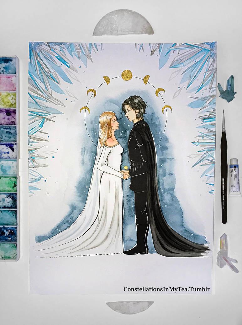 Inktober Day 31 - Eternal by yuuyami-artist