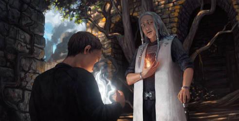 An Encounter in Ligenor by Xyrlei