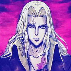 Alucard Castlevania by Kzira03