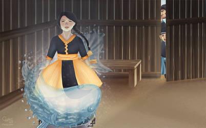 Magic Fish Transformation by cha-ji