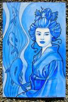 Coy Geisha 2 by khallion