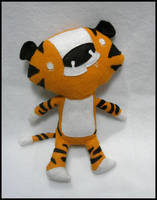 Scott Morse Tiger plush by elbooga