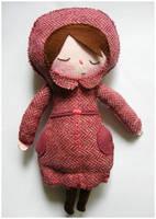Pink Lady Plush by elbooga