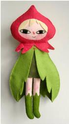 Flower Faerie Plush by elbooga