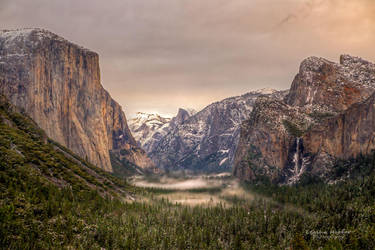 Tunnel View Beauty by LeashaHooker