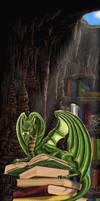 dragon bookmark recoloured by Ankaraven