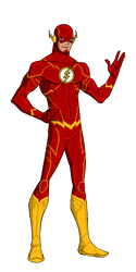 DC New 52:The Flash Animated by kyomusha
