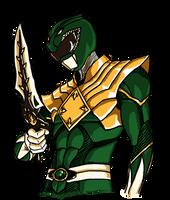 The Dragon Ranger/Green Ranger by kyomusha