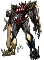 MMPR: Megazord by kyomusha