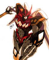 MMPR: Megazord Rising by kyomusha