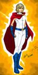 New Earth:Power Girl by kyomusha