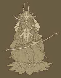 Deer Princess by Nekogoroshi-Sama