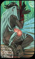 Qunari tarot card 4 by Nekogoroshi-Sama