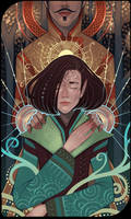 Dorian and Inquisitor card by Nekogoroshi-Sama